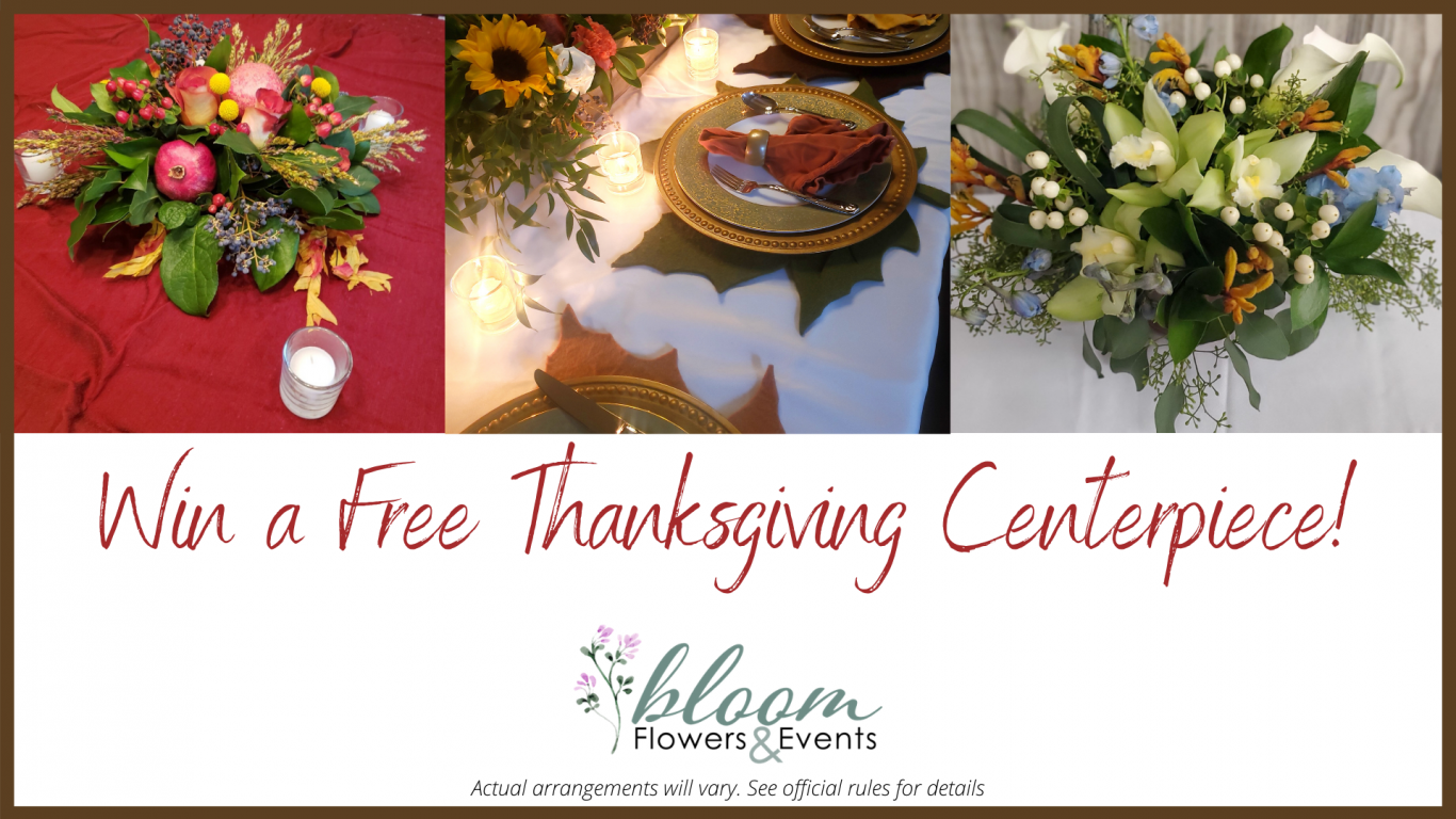 Win a Free Thanksgiving Centerpiece!